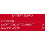 BATTERY SUPPLY WITH LOCATION