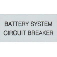 BATTERY SYSTEM CIRCUIT BREAKER