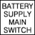 Battery Supply Main Switch