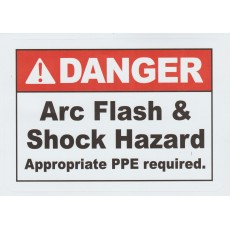 Danger Arc Flash