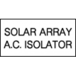 Solar Array A.C. Isolator