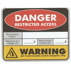 WARNING-RESTRICTED ACCESS AND ARC
